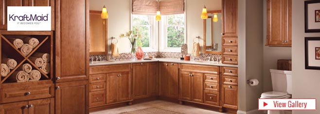 Bathroom Vanities | KraftMaid Bathroom Cabinets